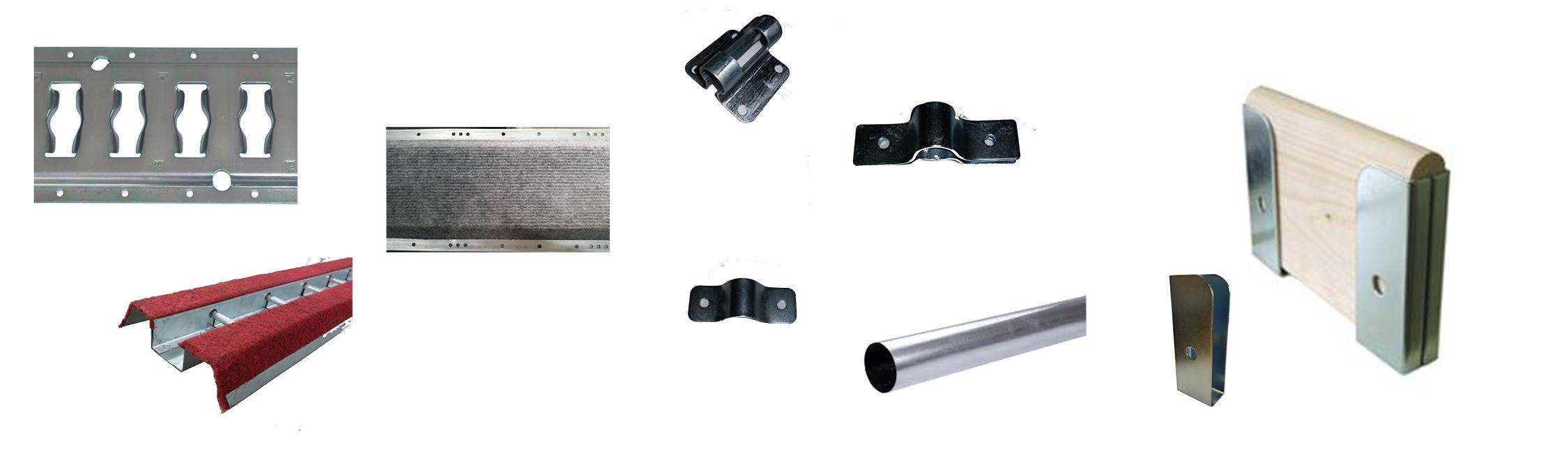 Rails et accessoires